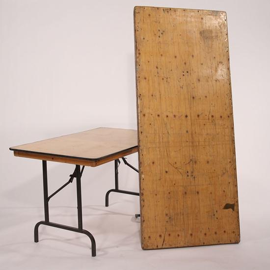 Image sur Table en bois