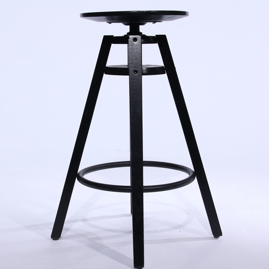 Picture of Tabouret - ajustable noir